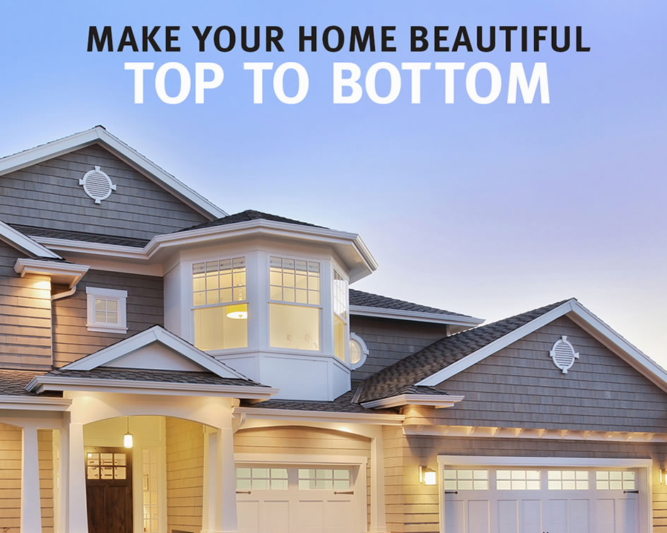 Restore Your Entire Home's Exterior With Us