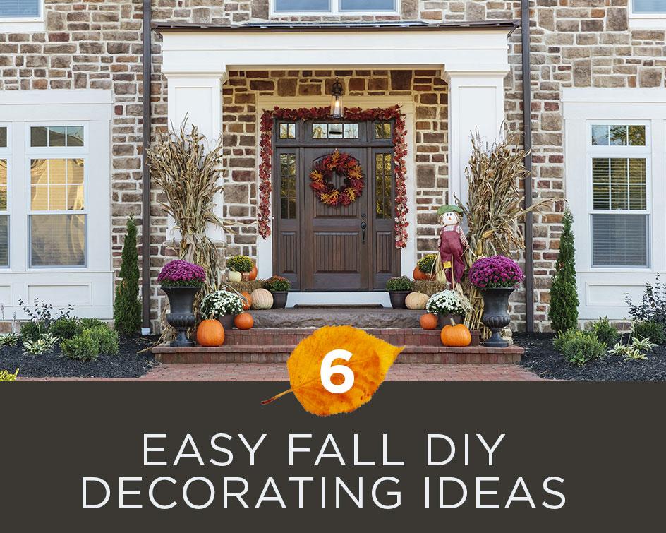 6 Easy Fall DIY Decorating Ideas