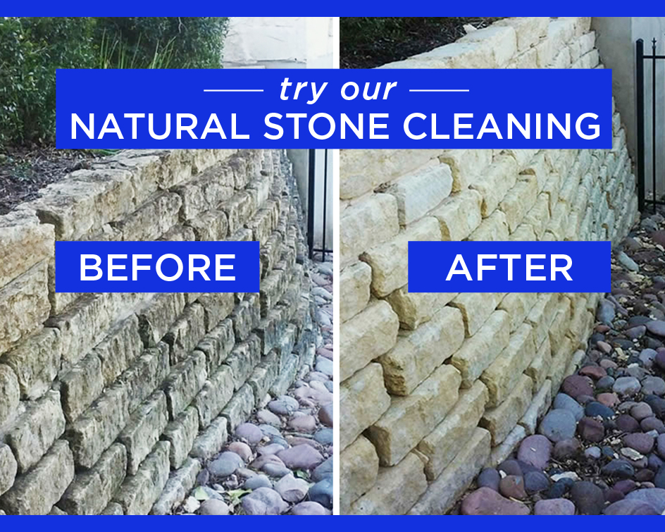 Professional Stone Cleaning Brings New
