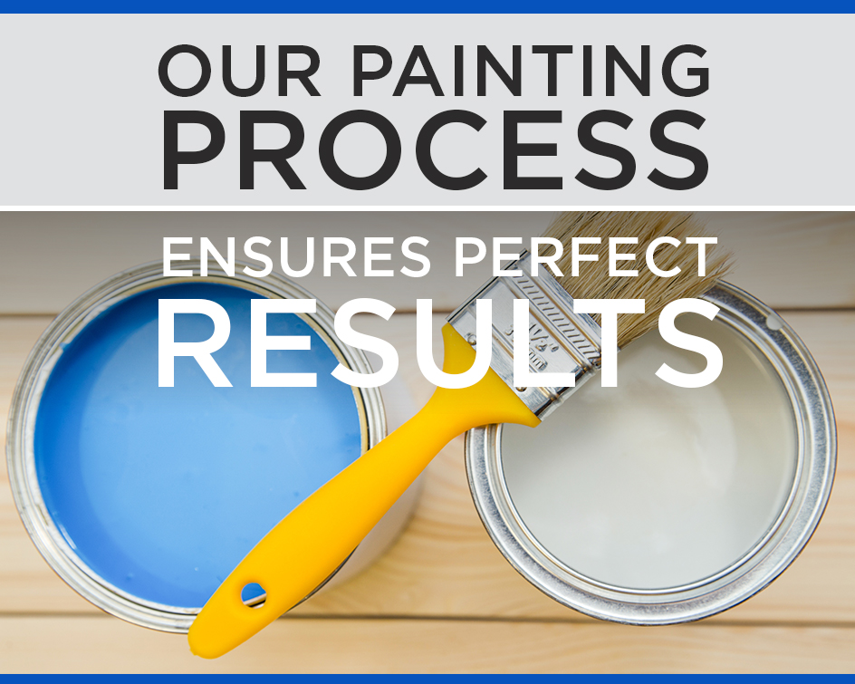 Our Painting Process Ensures Perfect Results