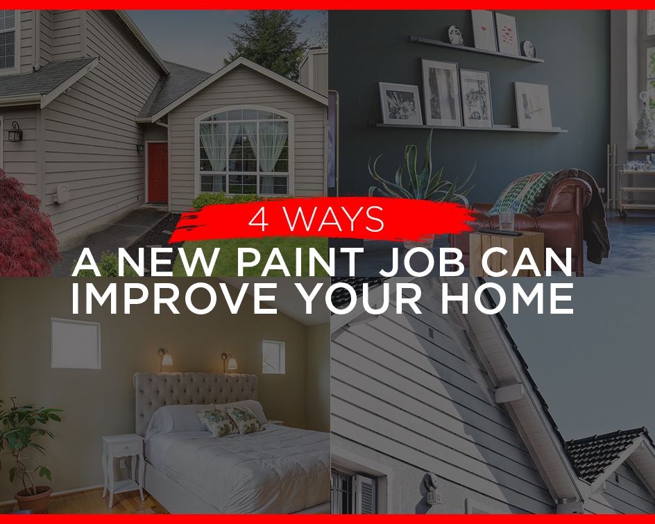 4 Ways Repainting Can Improve Your Home