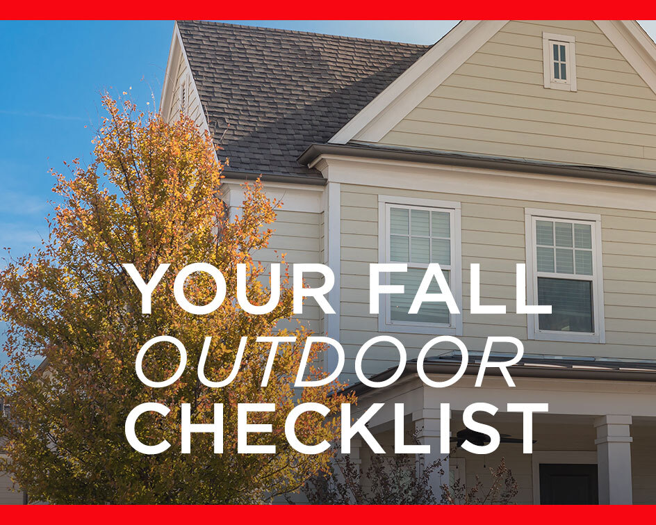 Your Fall Outdoor Cleaning Checklist